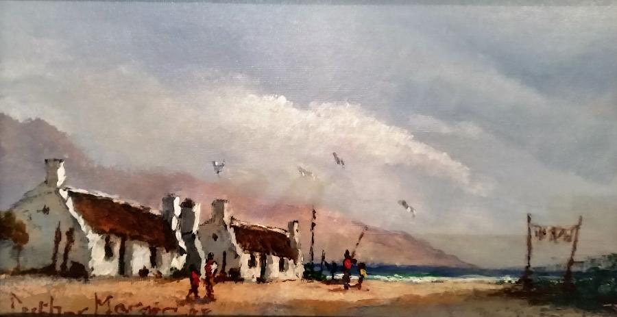 luther-marais--houses-on-the-beach