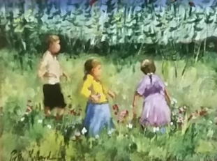 pieter-millard--girl-with-purple-dress