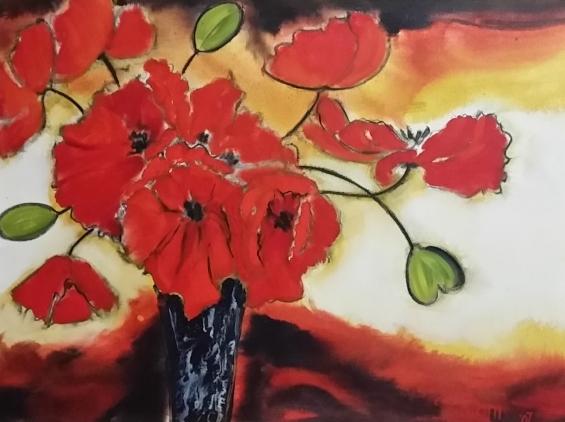 salomi-prinsloo--flowers-with-vase