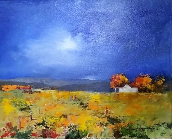 magriet-van-loggerenberg--landscape-blue-sky