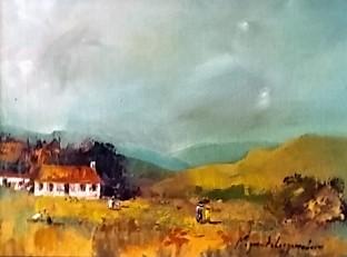 magriet-van-loggerenberg--landscape-turquoise