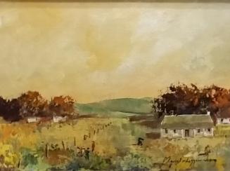 magriet-van-loggerenberg--landscape-yellow-sky