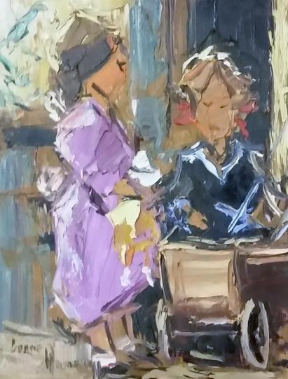 corne-weideman--two-girls